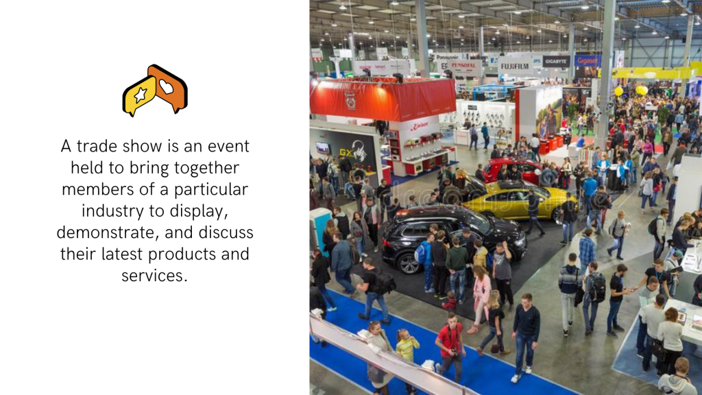 Your competitors will see your supplier on trade shows as well